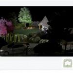 Ogród działkowy wizualizacje