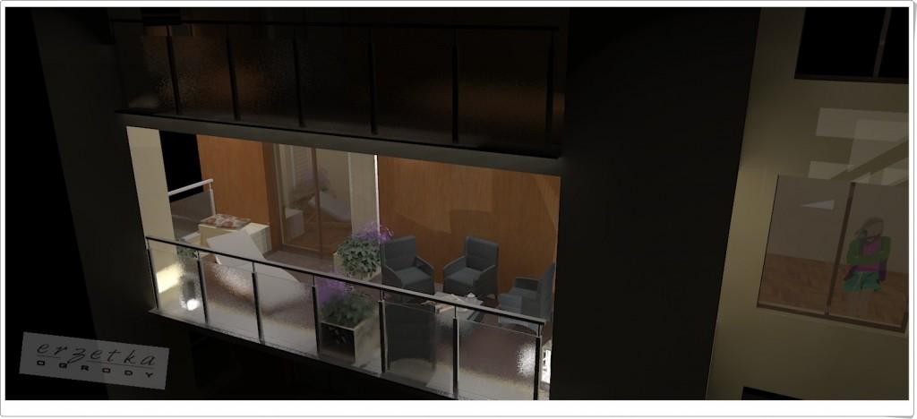 aranzacje balkonów tarasów rzeszów warszawa