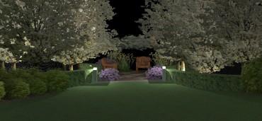 Niewielki ogród w osiedlu domów jednorodzinnych – Całkiem nowa odsłona.