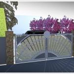 Projek ogrodzenia