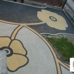 Projekt nawierzchni ogrodowej