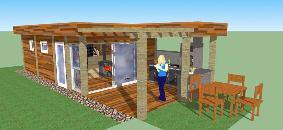 Ogrody z saunami czy sauny w ogrodach…?