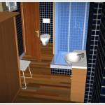 sauna z łazienką -ogrodowa