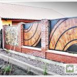 ogrodzenia -projekty indywidualne