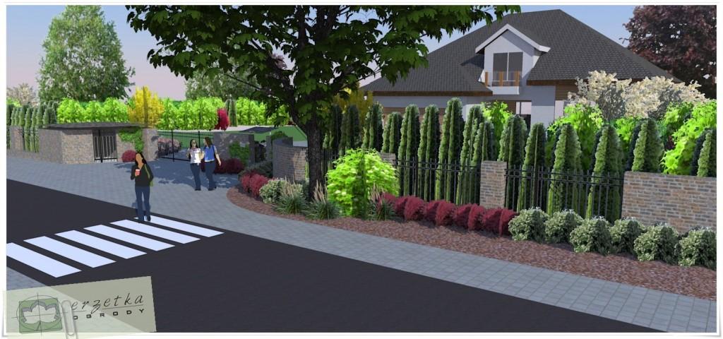 Postaraj się zaplanować ogrodzenie bezkolizyjnie.