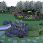 Wizualizacje projektów ogrodów. Rzeszów.